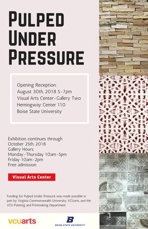 Pulped Under Pressure @ Boise State University